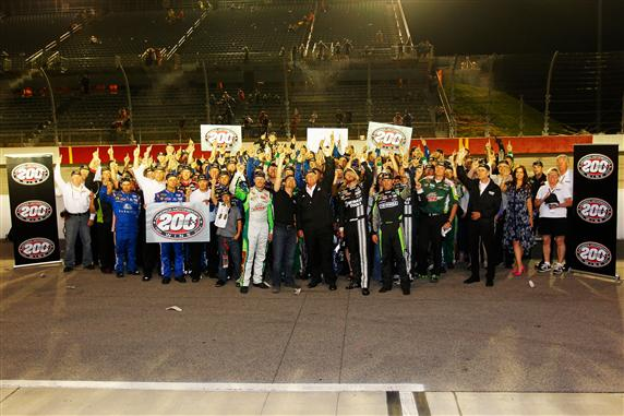 Hendrick Motorsports 200th Win Team Photo