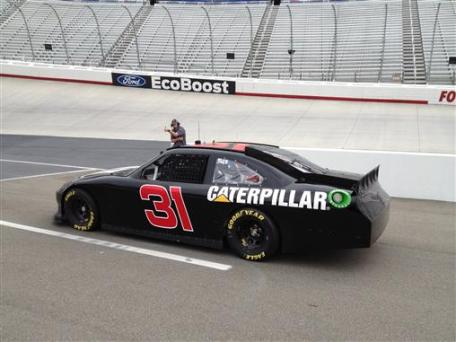2012 June Bristol Goodyear Tire Test_5 Jeff Burton