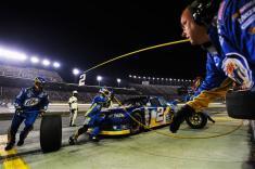 2012 Kentucky June NASCAR Sprint Cup Series Race Brad Keslowski Pit Stop