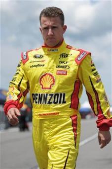 2012 Pocono June NASCAR Sprint Cup Practice AJ Allmendinger Walks