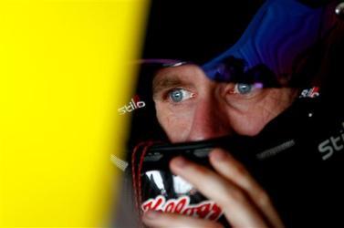 2012 Pocono June NASCAR Sprint Cup Practice Carl Edwards Cockpit