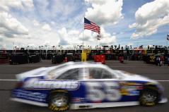 2012 Pocono June NASCAR Sprint Cup Practice Mark Martin Car