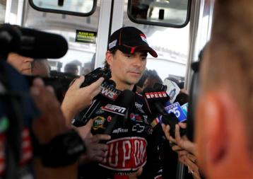 2012 Pocono June NASCAR Test Jeff Gordon Media