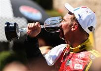 2012 Sonoma June NCSC race clint bowyer victory lane