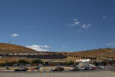 2012 Sonoma June NCSC race marcos ambrose leads start