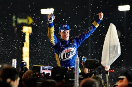 2012 Kentucky June NASCAR Sprint Cup Series Race Brad Keselowski Victory Lane