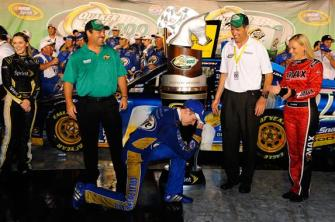 2012 Kentucky June NASCAR Sprint Cup Series Race Brad Keselowski