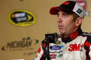 Greg-Biffle-Michigan-NASCAR-2012-Thursday-testing