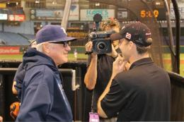 Harvick and Joe Maddon
