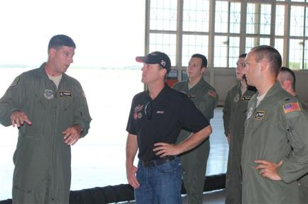 Harvick at MacDill 2