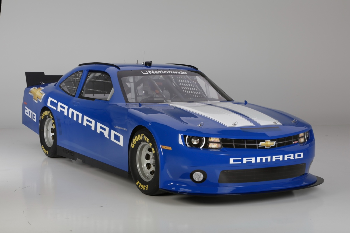 2013 Chevrolet Camero NASCAR Nationwide Series Car Side B