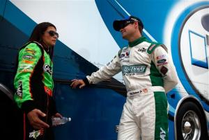 Thursday Nationwide Series at Indianapolis Motor Speedway - Danica Patrick Ricky Stenhouse