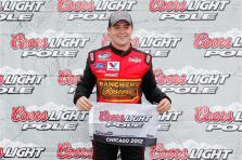 2012 Chicagoland Nationwide Qualifying Ricky Stenhouse Jr Coors Light Pole