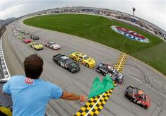 2012 Chicagoland Nationwide Ricky Stenhouse Jr Leads Field To Green