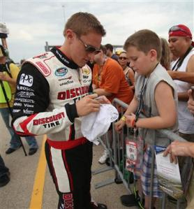 2012 Chicagoland Parker Kligerman Autographs Hat For Young Fan