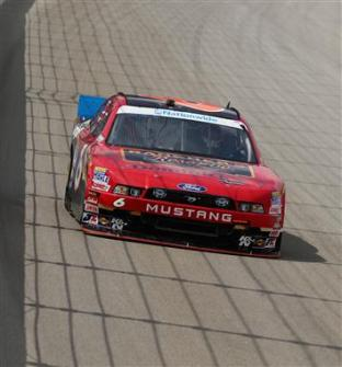 2012 Chicagoland Ricky Stenhouse Jr On Track For Practice