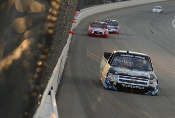 2012 Chicagoland Trucks James Buescher Drives To The Win
