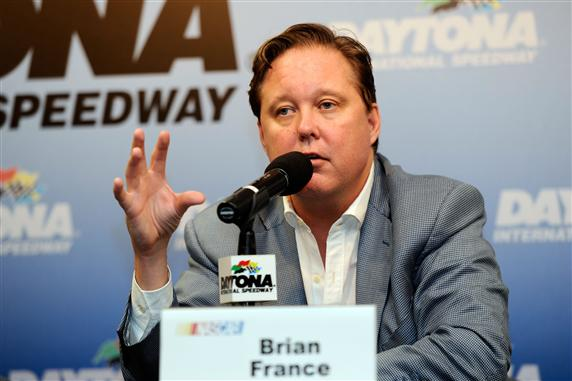 2012 Daytona July Brian France press conference
