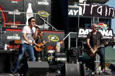2012 Daytona July NASCAR Sprint Cup Series Race Train Performs
