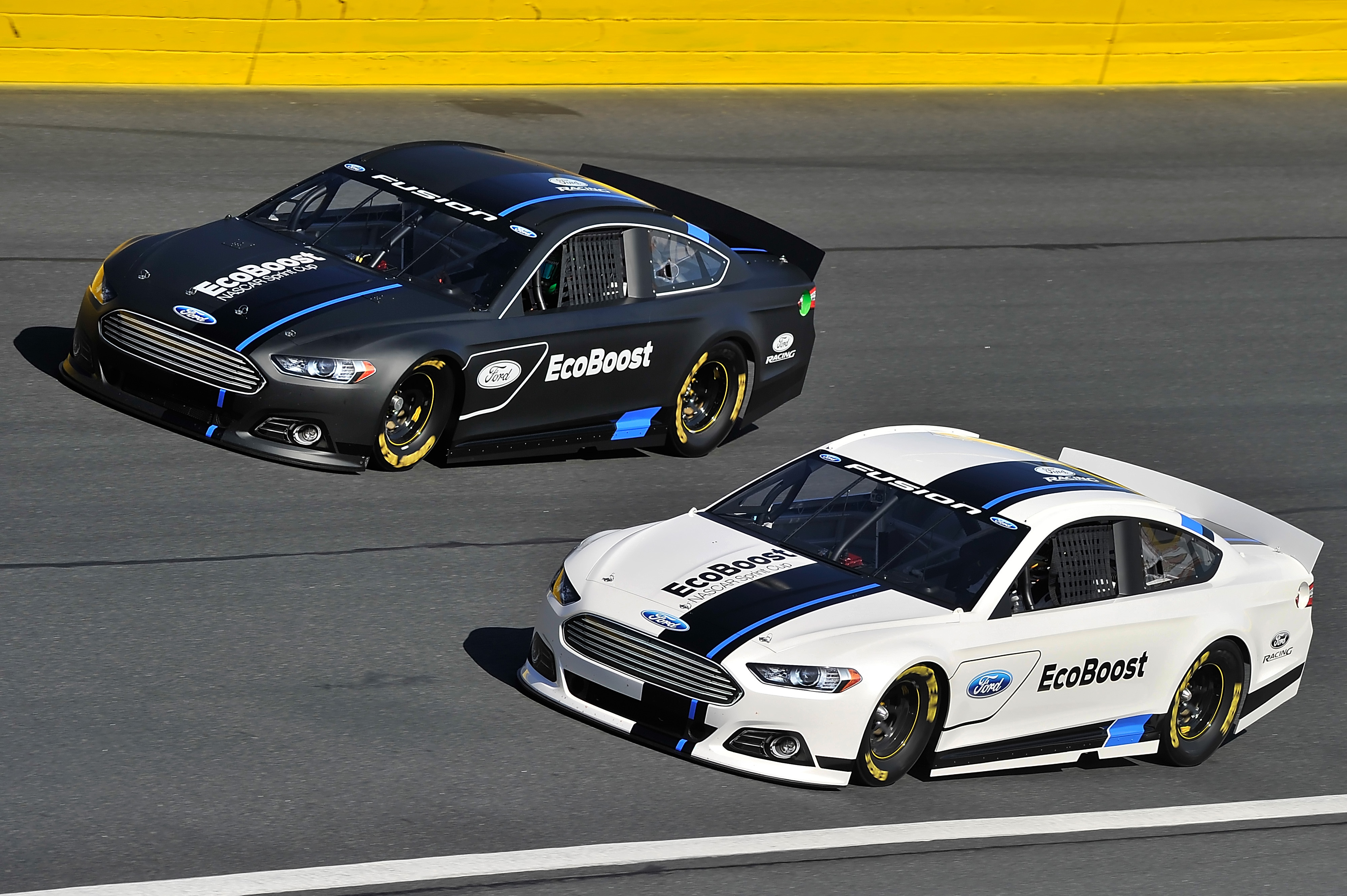 2012 Ford 2013 Fusion Media Day Nascar Cup Series Cars Track The