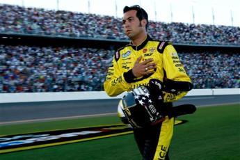 2012 Daytona July NASCAR Sprint Cup Series Race Sam Hornish Jr. starts for AJ Allmendinger
