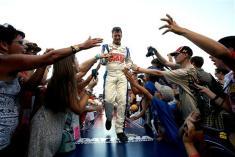 2012 Daytona July NASCAR Sprint Cup Series Race Dale Earnhardt Jr. with fans