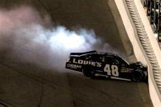 2012 Daytona July NASCAR Sprint Cup Series Race Jimmie Johnson Wrecks