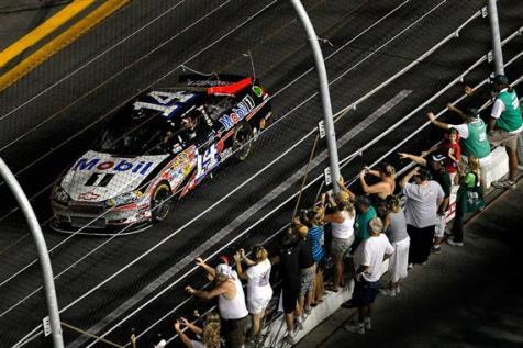 2012 Daytona July NASCAR Sprint Cup Series Race Tony Stewart Wins