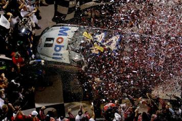 2012 Daytona July NASCAR Sprint Cup Series Race Victory Lane Tony Stewart