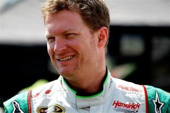 2012 Bristol2 Dale Earnhardt Jr. Smiles During Practice