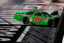 2012 Bristol2 Danica Patrick Crashes Into Wall After Incident With Regan Smith