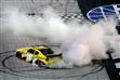 2012 Bristol2 Nationwide Joey Logano Burns Out