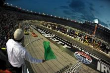 2012 Bristol2 Trevor Bayne Leads Nationwide Field To The Green Flag