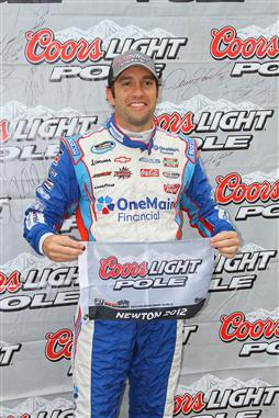 elliott-sadler-pole-iowa-speedway-start
