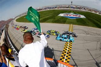 2012 Chase Race #1 from Chicagoland green flag