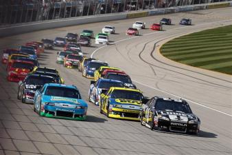 2012 Chase Race #1 from Chicagoland Jimmie Johnson leads