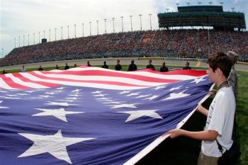 2012 Chase Race #1 from Chicagoland American Flag