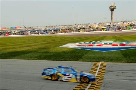 2012 Chase Race #1 from Chicagoland finish line