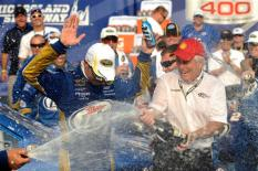 2012 Chase Race #1 from Chicagoland Victory Lane