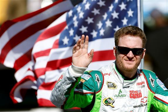 Dale Earnhardt Jr. named NASCAR Sprint NMPA Most Popular Driver