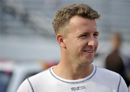 2012 Martinsville2 AJ Allmendinger During Qualifying