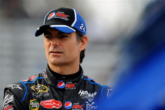 2012 Martinsville2 Jeff Gordon On Grid For Qualifying