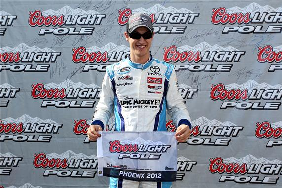 2012 Phoenix2 Joey Logano Coors Light Pole Award