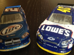 Jimmie Johnson Brad Keselowski