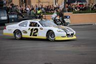 2012 NASCAR Victory Lap Las Vegas Burn Outs - Sprint Pace Car