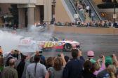 2012 NASCAR Victory Lap Las Vegas Burn Outs - Greg Biffle