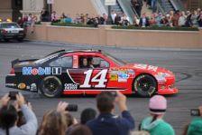 2012 NASCAR Victory Lap Las Vegas Burn Outs - Tony Stewart