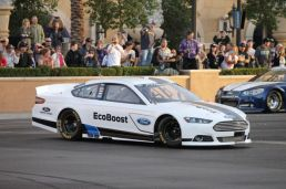 2012 NASCAR Victory Lap Las Vegas Burn Outs - Ford Fusion