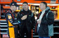 2012 CMS Testing Matt Kenseth Jason Ratcliff