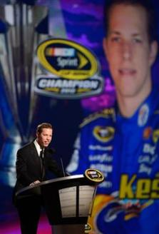 2012 Vegas Awards Brad Keselowski Speaks 2